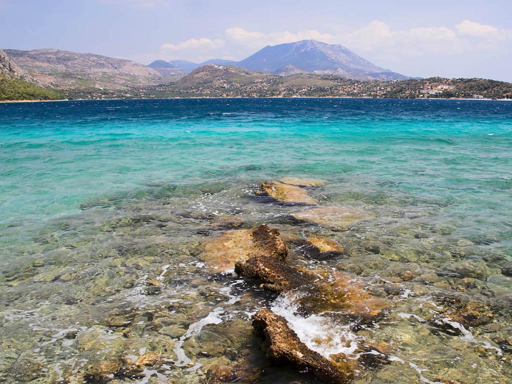голубое озеро греция фото мир каждым днем