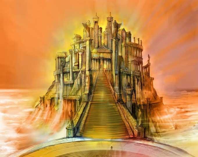 Храм Богов на Олимпе