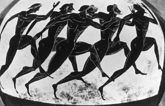 древняя греция олимпийские игры картинки