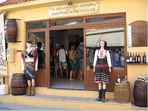 Деревня Эмбона - достопримечательности Родоса