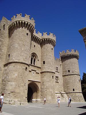 Дворец Великих Магистров - достопримечательности Родоса