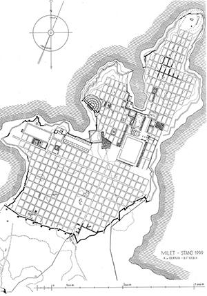 Особенности планирования городов
