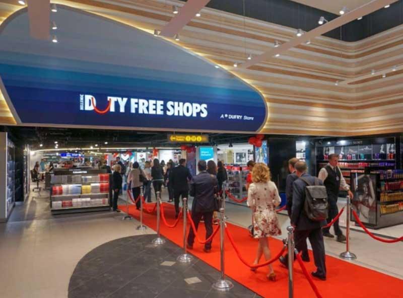 Магазины в аэропорту Крита