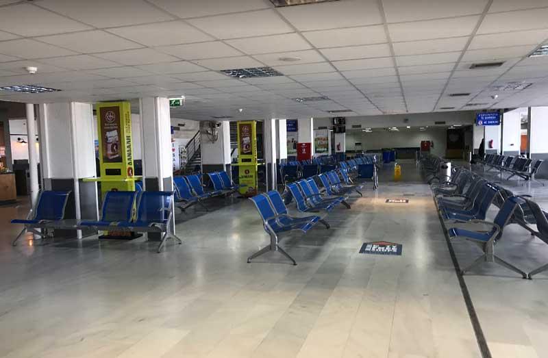 Зал ожидания аэропорта Крит