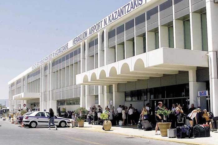 аэропорт ираклиона