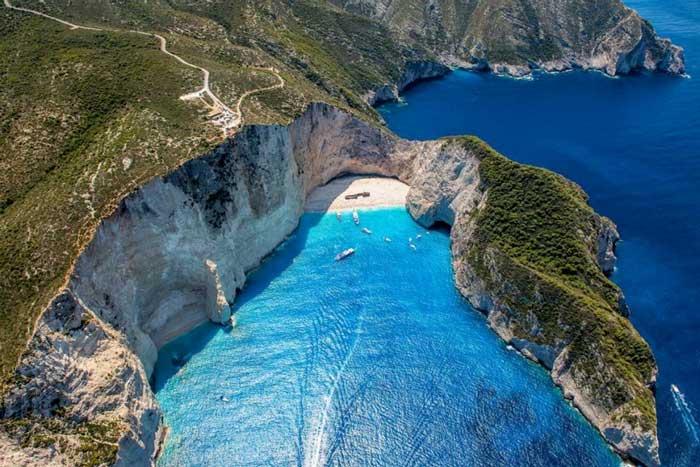греция остров закинф