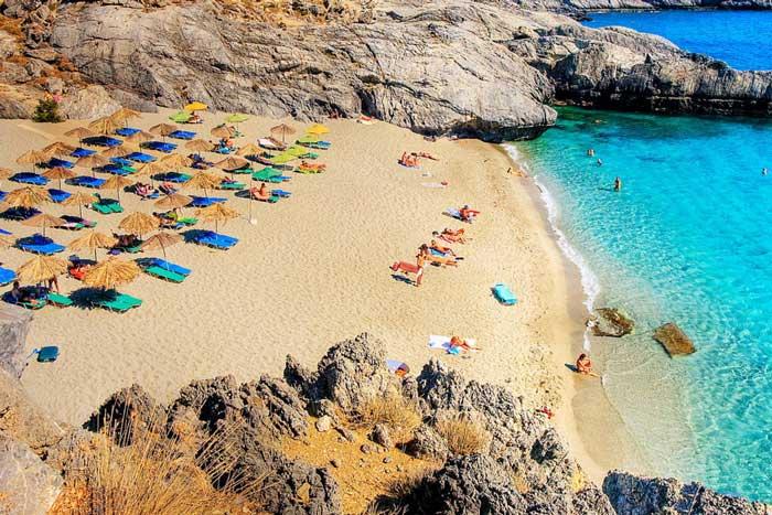 пляжи крита