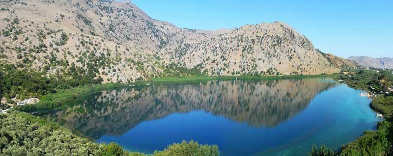 Озеро Курна Крит