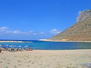 Пляжи Крита - пляж Stavros