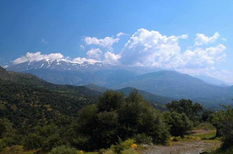 Белые Горы и гора Ида на Крите