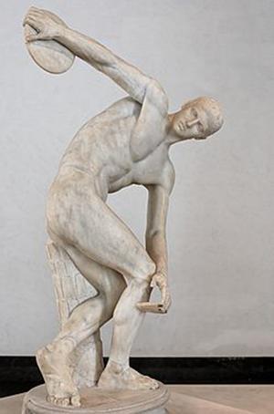 скульптура древней греции Мирон