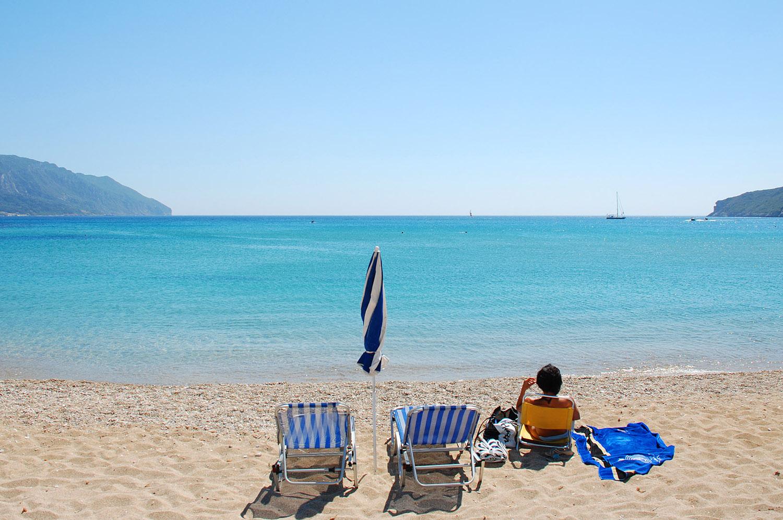 лучшие пляжи корфу