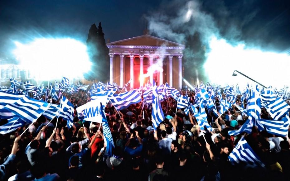 история флага греции