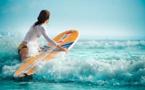 серфинг на искии