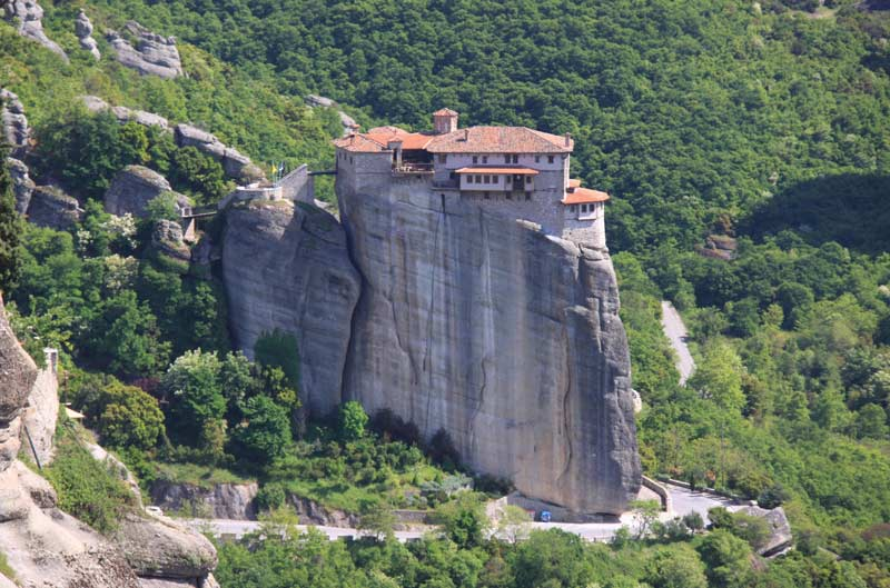Монастырь Святой Варвары Метеоры