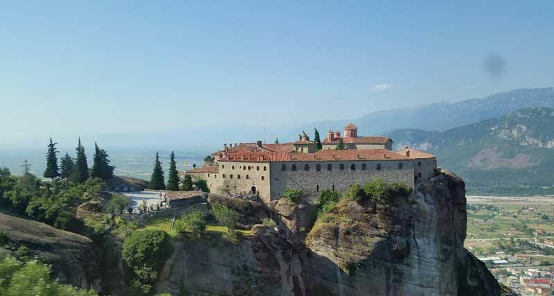 Метеоры Монастырь Святого Стефана