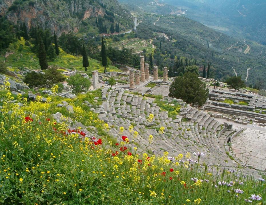весна в греции