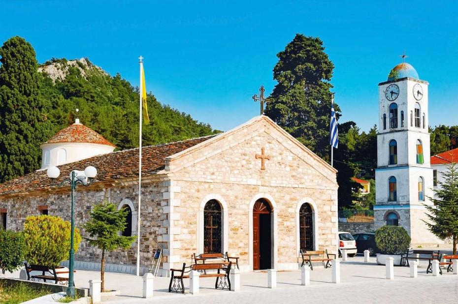 церкви острова тасос