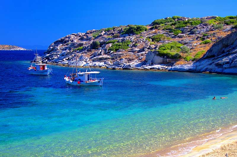 Какая погода в Греции в августе