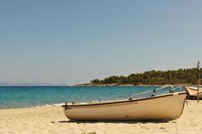 пляжи афона греция