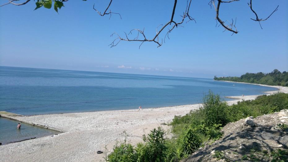 пляжи афона