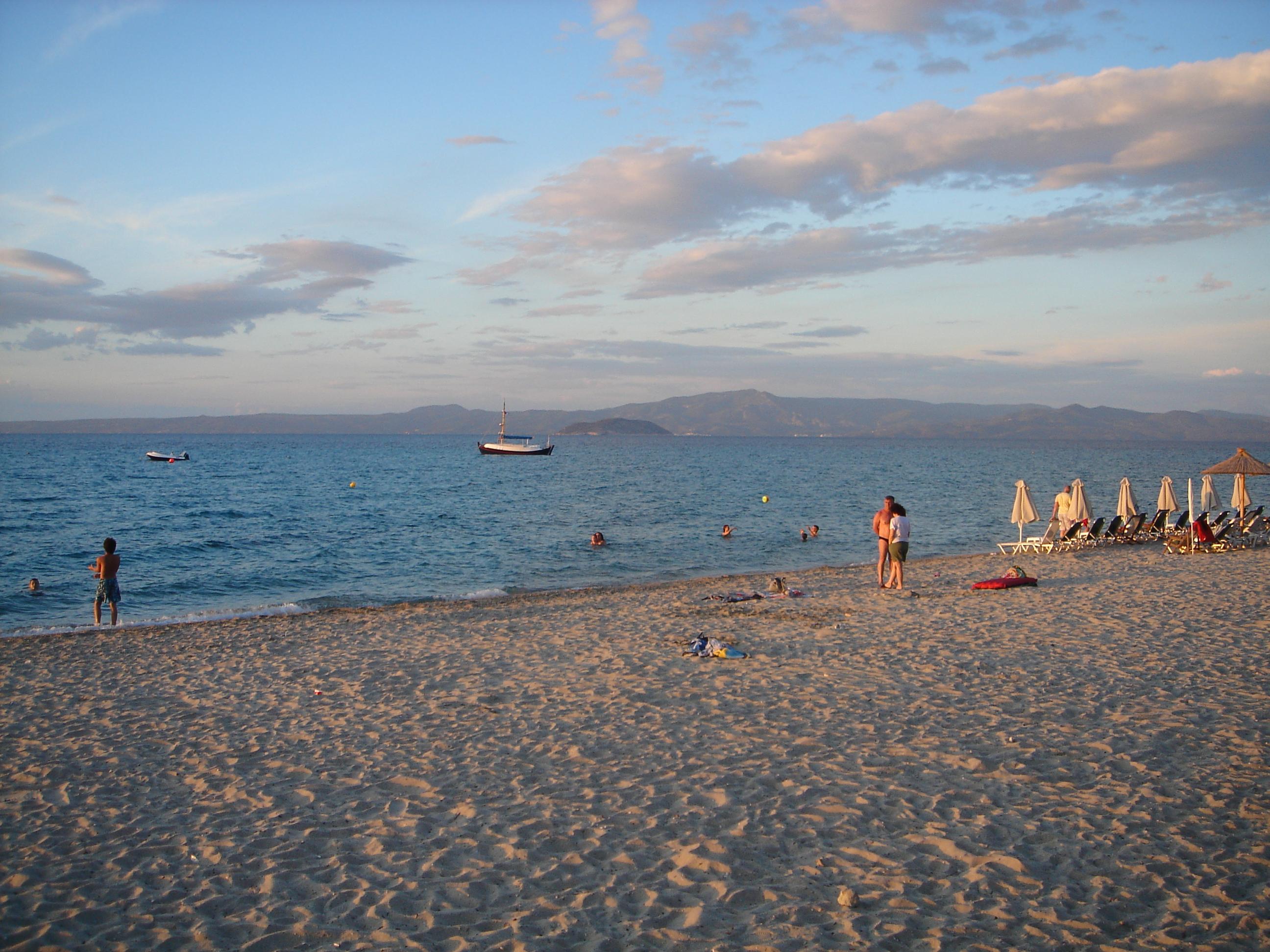 песчаные пляжи халкидики