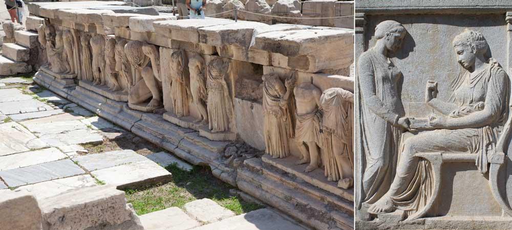 Памятники Акрополя