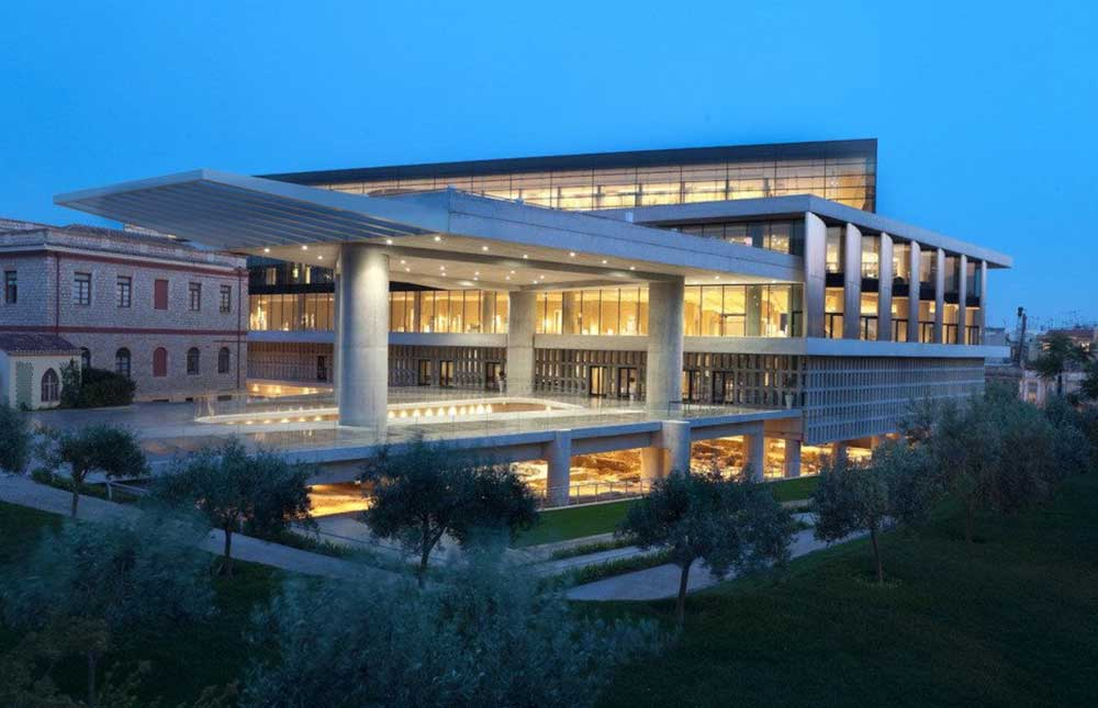 Новый музей Акрополь