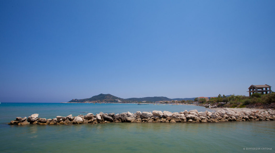пляж аликес закинф