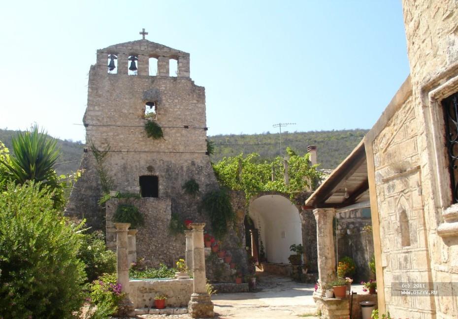 монастырь закинф