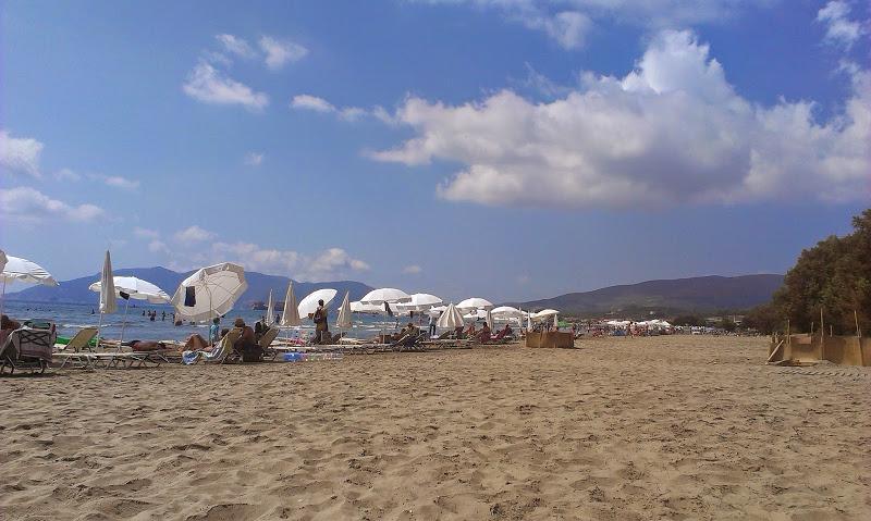 пляж лаганос