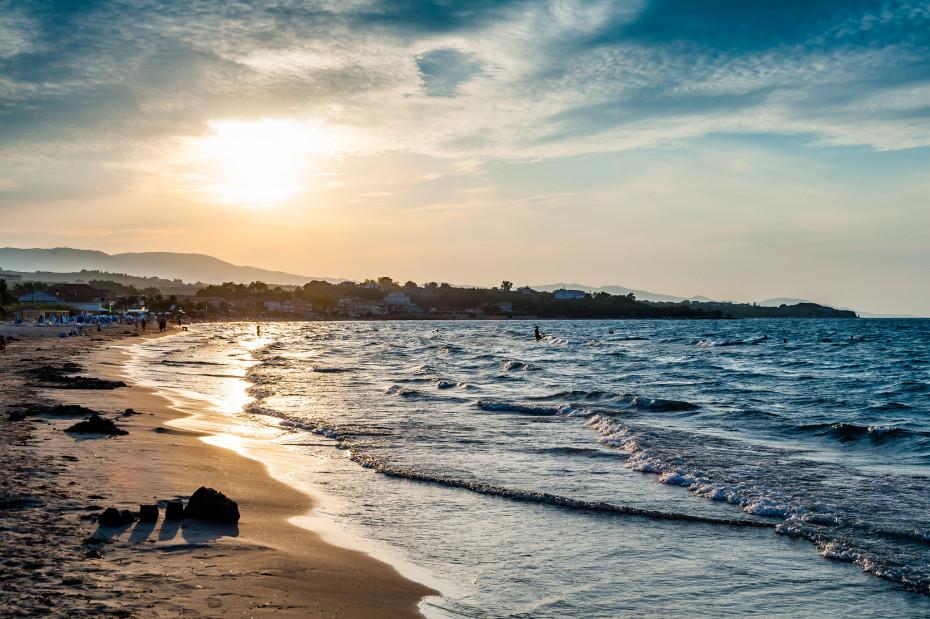 Пляж Циливи Закинтос