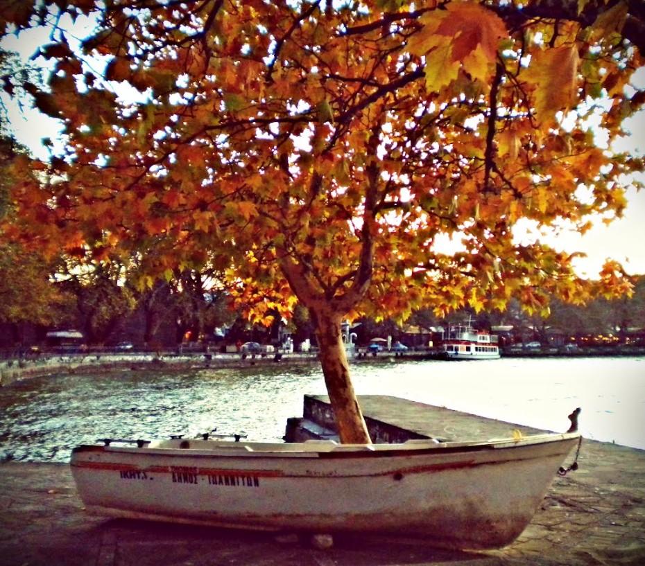 осень греция