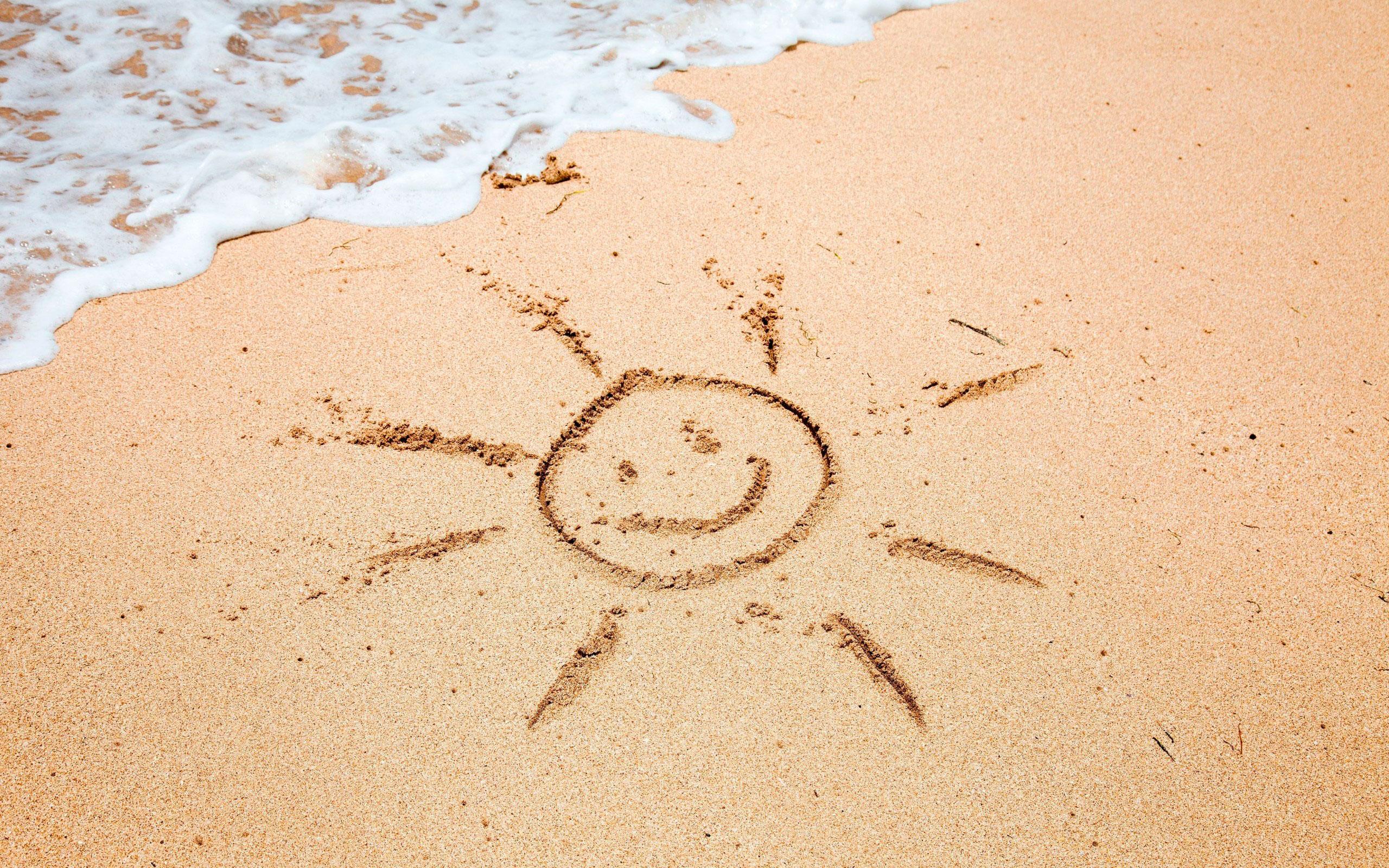 Лето в картинках с надписью, для паблишер