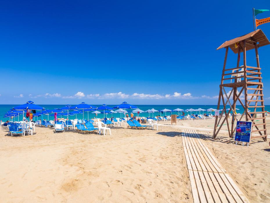 лучшие пляжи Ретимно