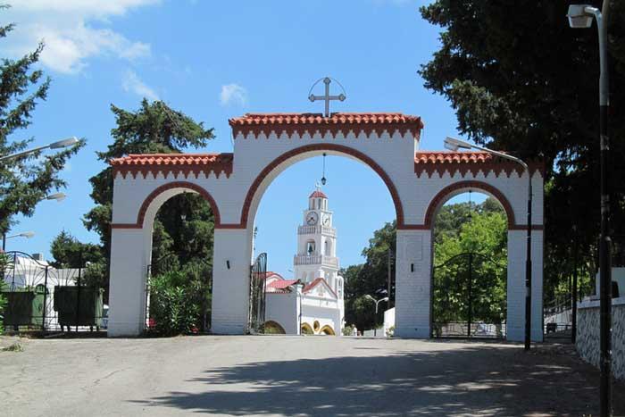 Где находится икона Святой Цамбики