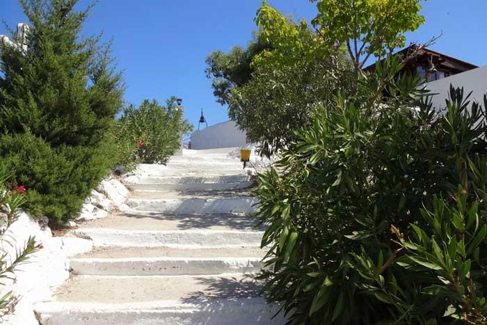 Лестница к монастырю Мони Цамбика
