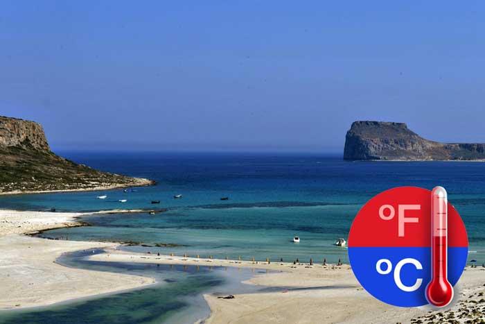 Погода на Крите в апреле