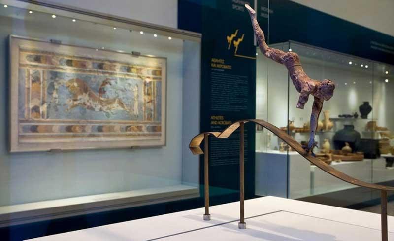 Знаменитые Экспонаты археологического музея Ираклиона
