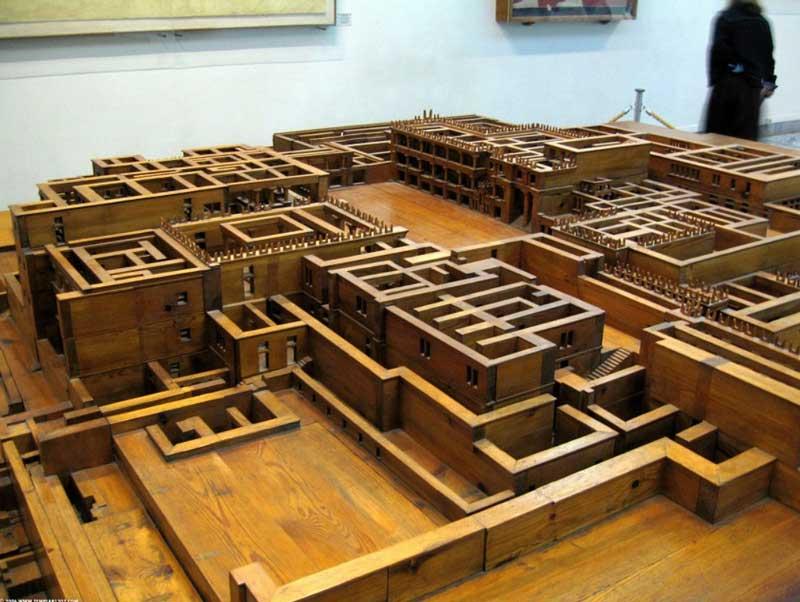 Модель Археологического музея Ираклиона