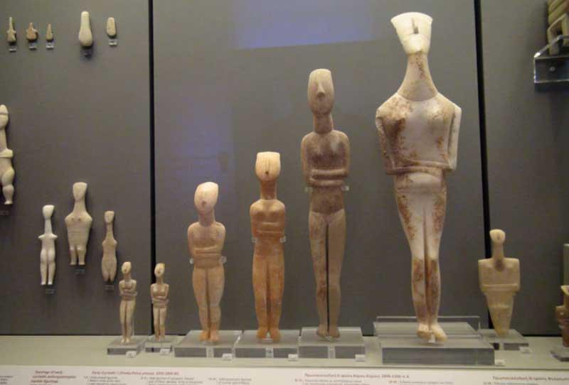 Афины Музей Кикладского Искусства