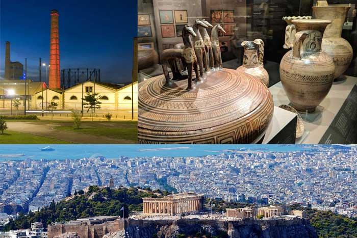 Интересные места Афин