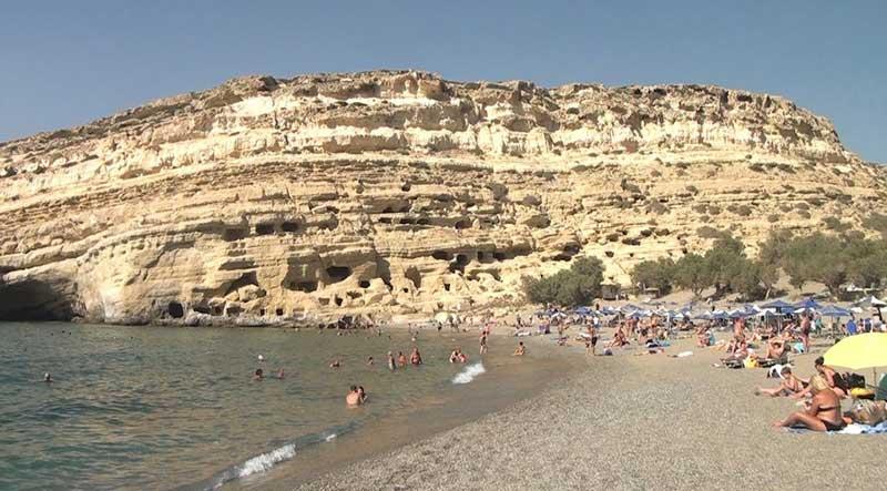 Пещеры Матала