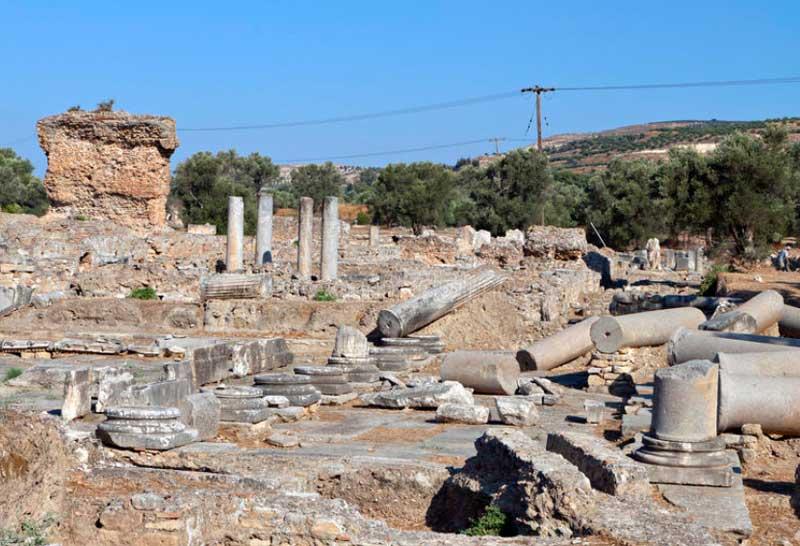 Гортина древнейший город Крита