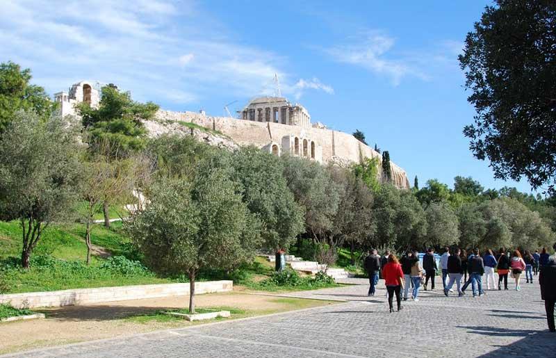 улица Dionysiou Areopagitou
