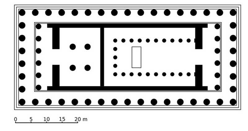 Проект храма Парфенон