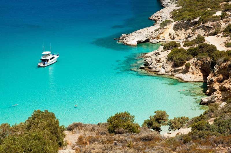 Температура воды на Крите в августе