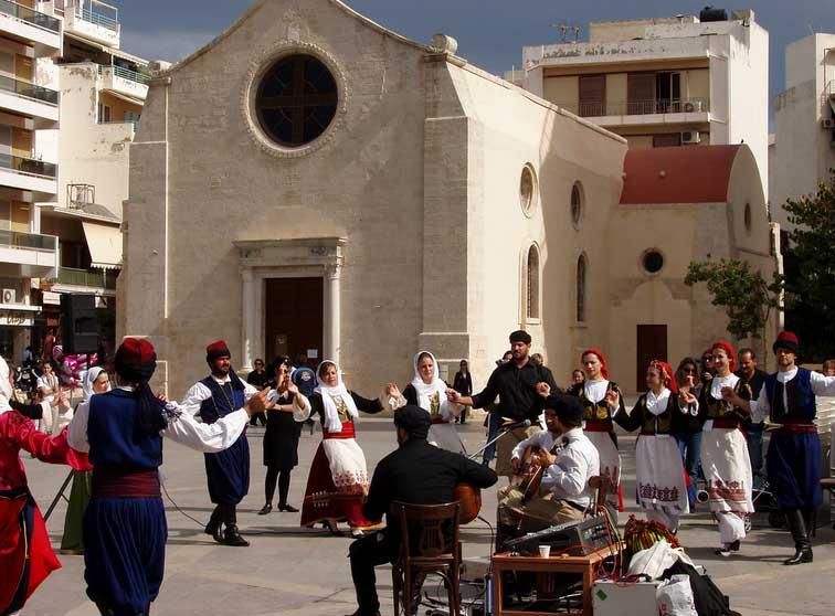 греческий Праздник Успения