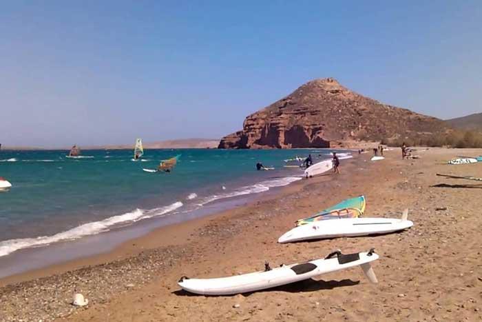 Побережье Крита в августе
