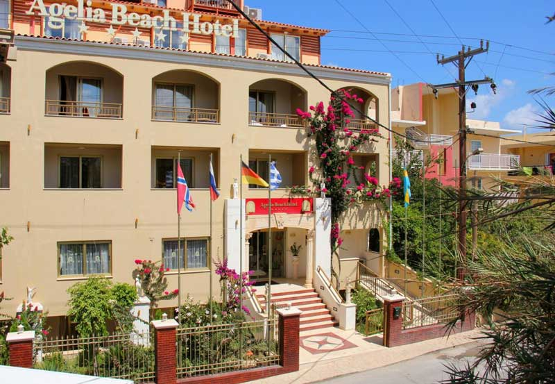 Agelia Beach Hotel 4 Греция о Крит Ретимно